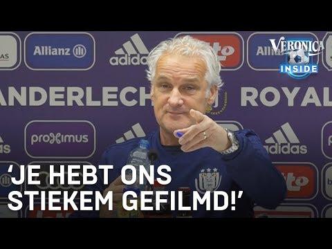 Dennis in discussie met Rutten op bezoek in Anderlecht | DENNIS - VERONICA INSIDE