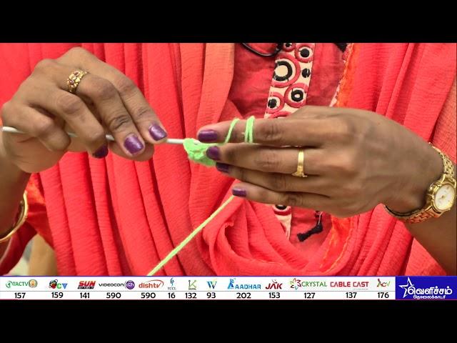Nangaiyar Neram - தொழில் பழகு | woolen craft | Videos | Velicham Tv Entertainment