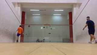 2014 03 26 Squash Tres Cantos Alfonso Rubio vs Angel Gonzalez