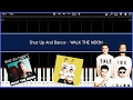 Shut Up And Dance - WALK THE MOON (Synthesia) [Tutorial] [Instrumental Video] [Download]