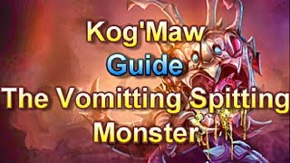 AD Kog'Maw Guide - The Vomitting Spitting Monster - League of Legends