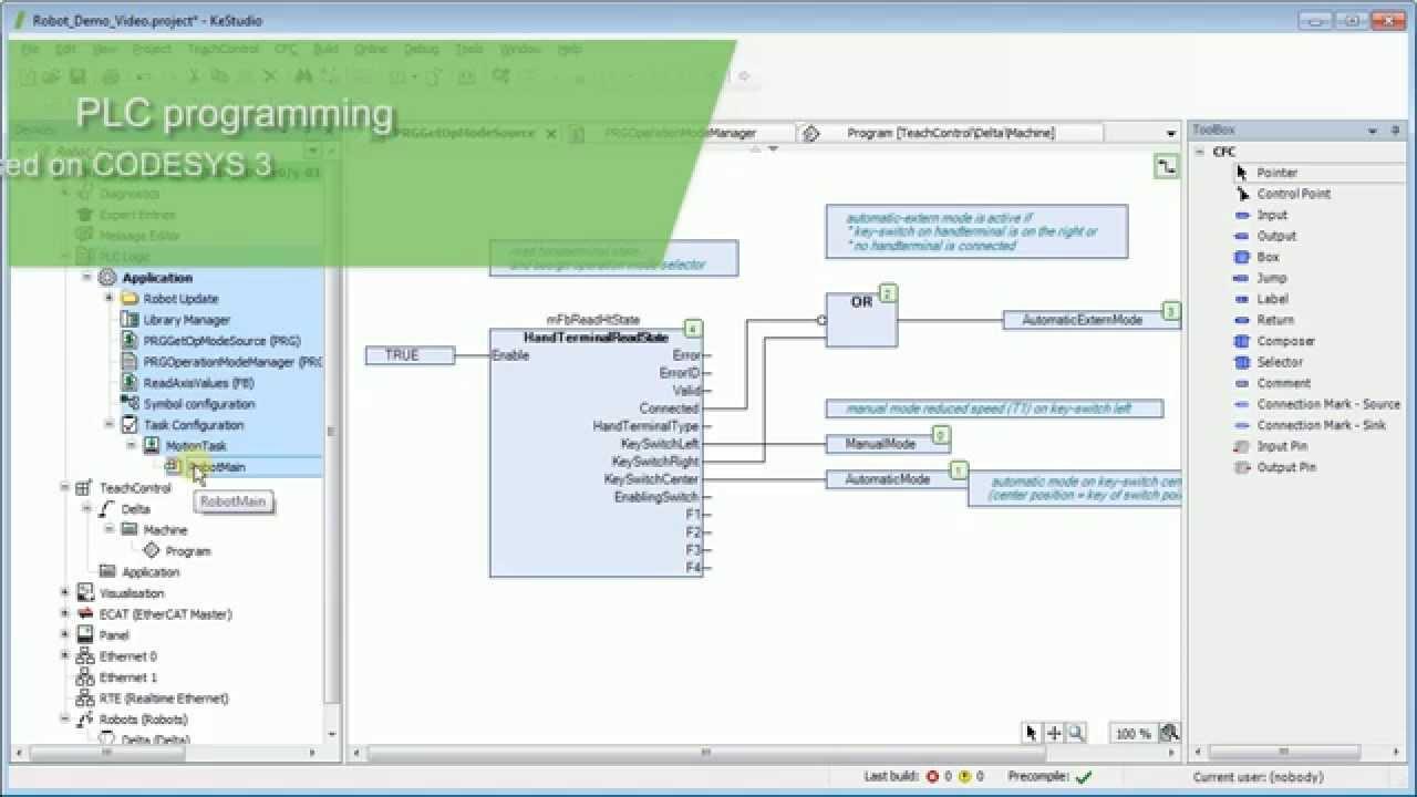 Kestudio Plc And Robotics Programming Youtube Learn Cnc Ladder Logic Controls