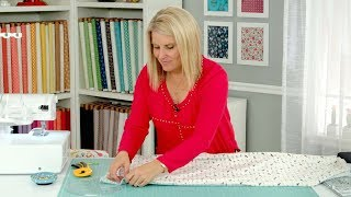 Easy Baby Blanket And Burp Cloth Using A Serger
