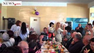 Wedding at Armenia's nursing home: bride is 76 and groom -- 80