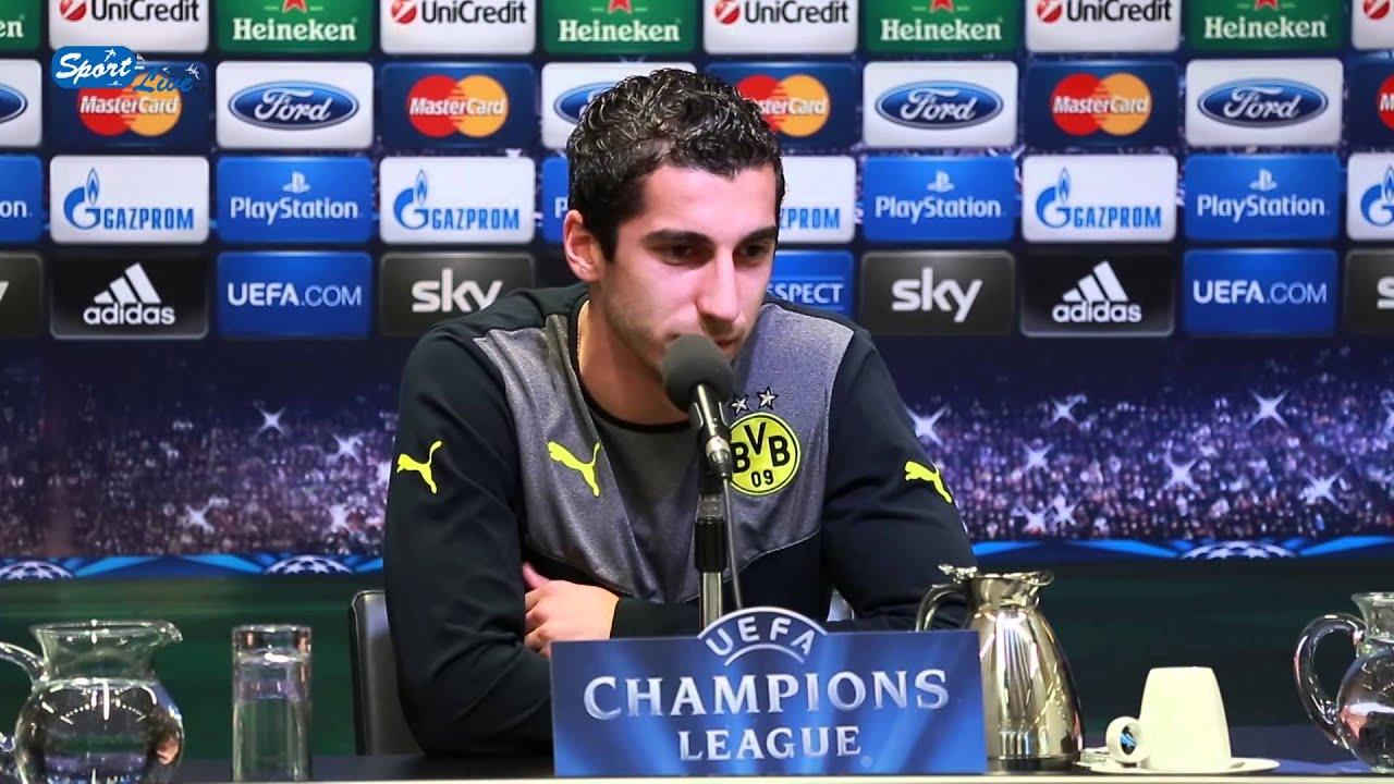 BVB Pressekonferenz vom 30. September 2013 vor dem ersten Champions League Heimspiel zwischen Borussia Dortmund und Olympique Marseille