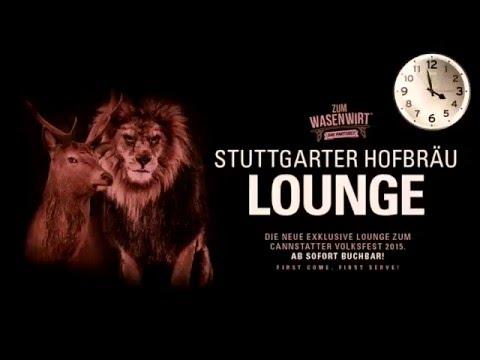 Stuttgarter Hofbräu Lounge - in 3 Min. startklar | Festzelt ZUM WASENWIRT