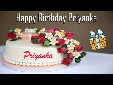 Happy Birthday Priyanka Image Wishes✔