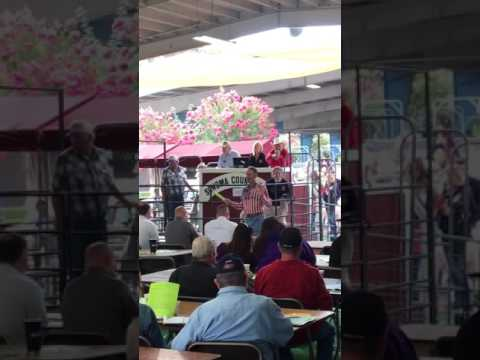 Junior Livestock Auction at Sonoma County Fair