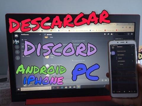 Como descargar Discord para PC, móviles y tablets GRATIS (link en la descripción)