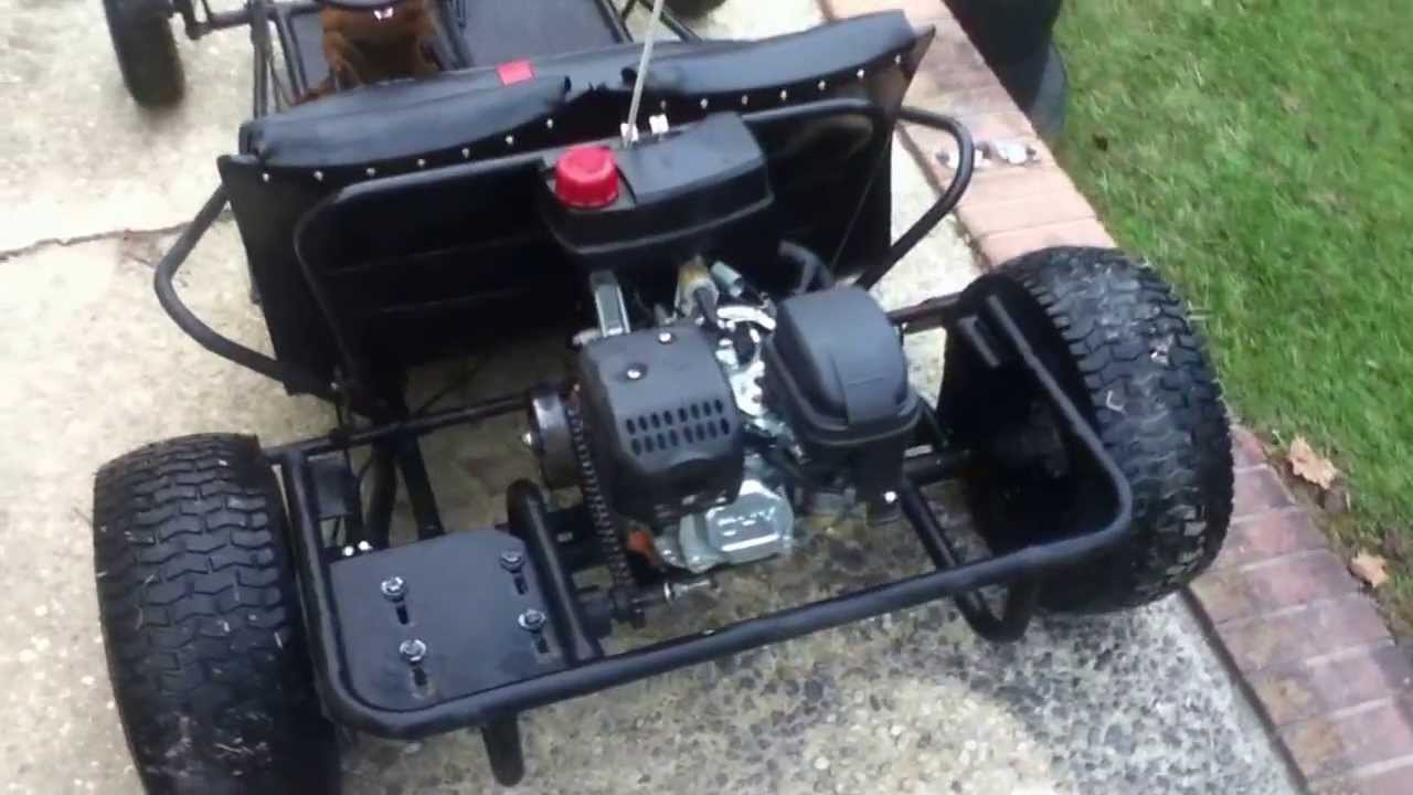 modded custom manco rat rod styled go kart youtube. Black Bedroom Furniture Sets. Home Design Ideas