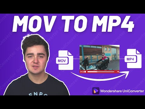 How to Convert MOV to MP4 in Second!