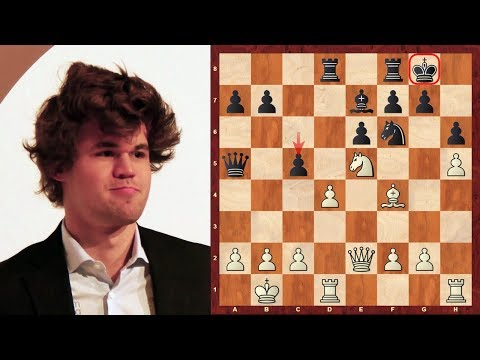 Magnus Carlsen Top Eight Amazing Chess Sacrifices (up until 2014)