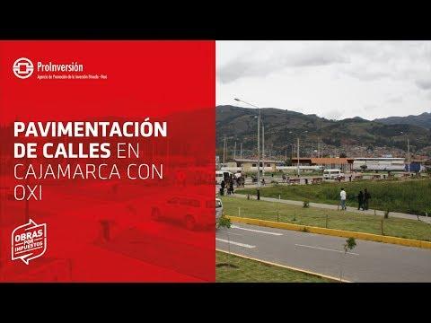 Pavimentación de calles del Gran Qhapaq Ñan - Cajamarca - Obras por Impuestos