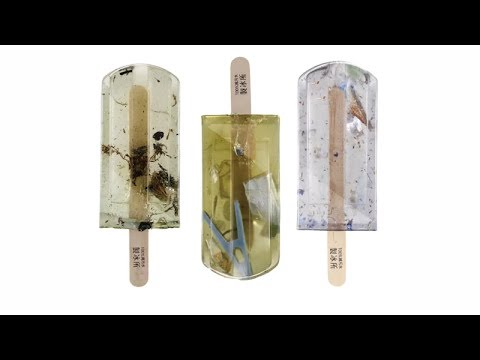 Popsicles made of pollution