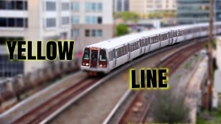 🚇/💺 WMATA Metrorail: Yellow Line (YL) to Fort Totten... FULL RIDE!