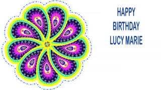 LucyMarie   Indian Designs - Happy Birthday