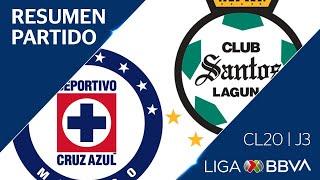 Resumen y Goles | Cruz Azul vs Santos L...