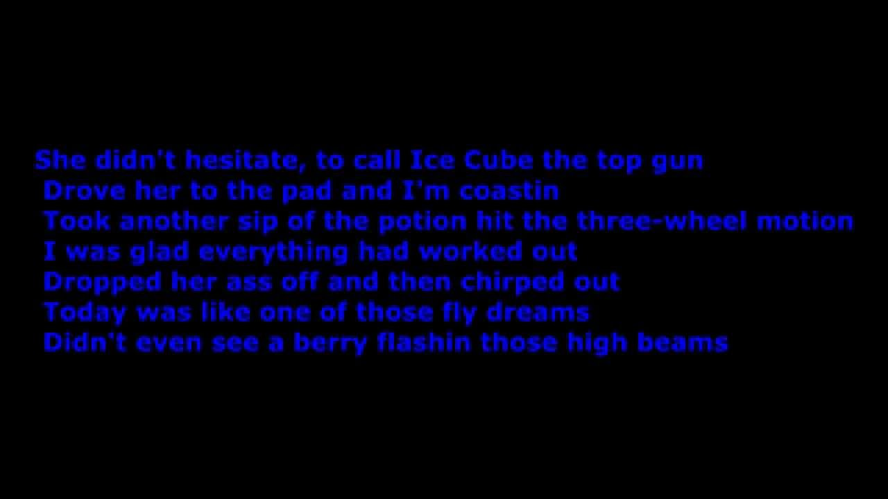 Ice Cube Song List Awesome ice cube - today was a good day [hd] [lyrics] [dirty] - youtube
