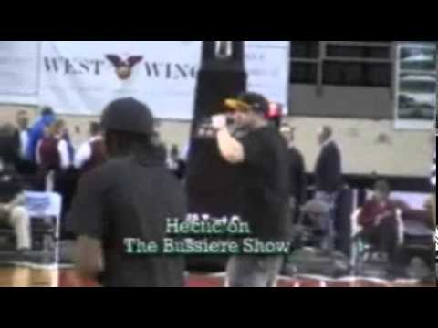 This is Hectic at the Erie Pa Bay Hawks game - Bussiere Show aks SpotLight tv