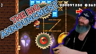 Big Announcement! | Super Mario Maker 2 Super Expert No Skip with Oshikorosu! [129]