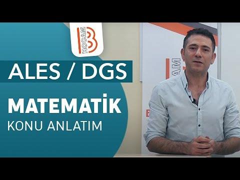 87)Deniz ATALAY - Eşkenar Dörtgen / Deltoid (ALES/DGS-Matematik) 2019