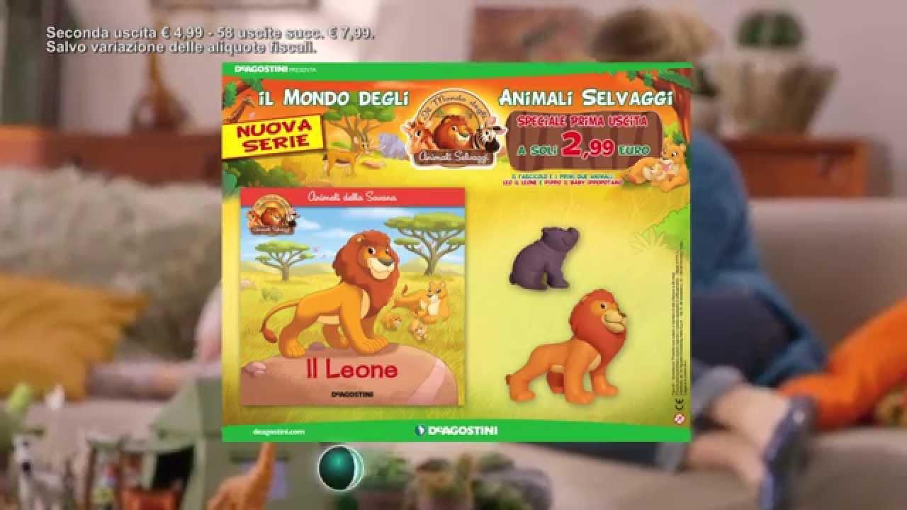 Il mondo degli animali selvaggi youtube