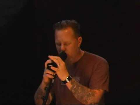 James Hetfield Singing/Playing My Apocalypse