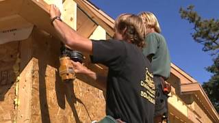 How To Install Exterior Trim And Siding  - Garage And Boat Storage -   Bob Vila Eps.1607