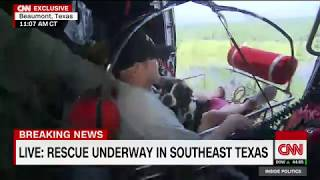 Anderson Cooper rides along in chopper rescue