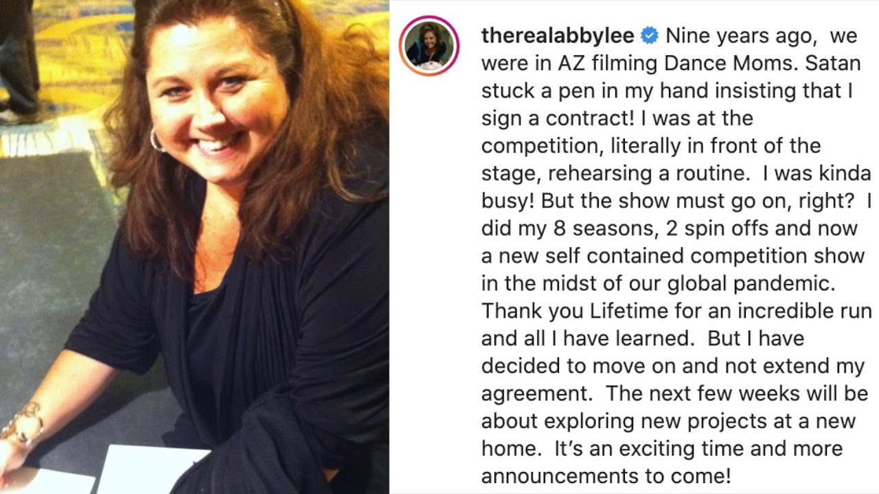 Is Dance Moms OVER? Abby Decides To LEAVE THE SHOW!