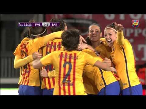[HIGHLIGHTS] FUTBOL FEM (UEFA Women's Champions): Twente - FC Barcelona (0-1)