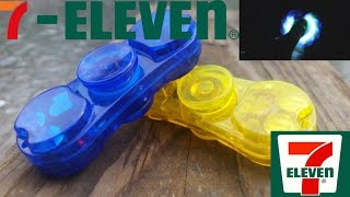 7-Eleven LED Fidget Spinner unboxing, review, and giveaway. LED fidget spinner