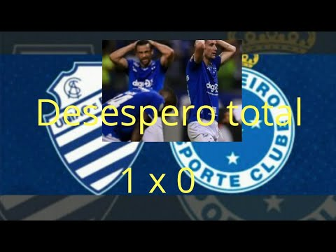 jogo Cruzeiro 0 x 1 CSA 28/11/2019 melhores momentos do jogo