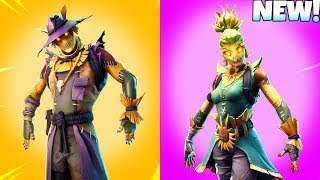 NEW SCARECROW SKINS LEAKED! Fortnite Battle Royale! Interactive Streamer!