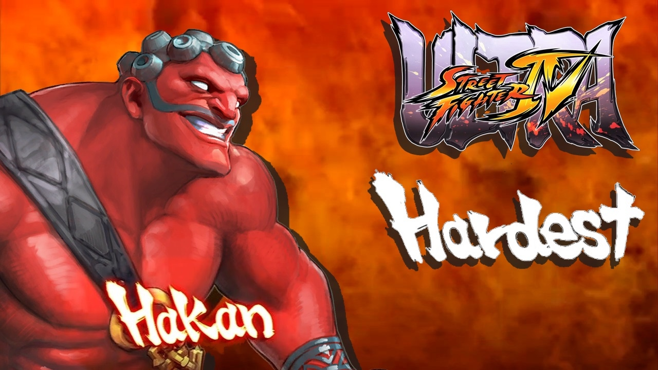 Ultra Street Fighter IV - Hakan Arcade Mode (HARDEST)