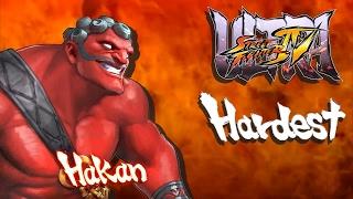 ultra street fighter iv hakan arcade mode hardest