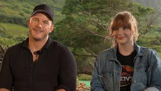 Bryce Dallas Howard's Dad Ron Howard Totally Spoiled Chris Pratt Being In The New 'Jurassic' Films