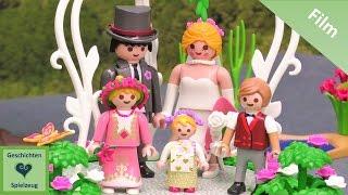 Playmobil Film Deutsch DIE HOCHZEIT VON TOM UND MELISSA ♡ Playmobil Geschichten mit Familie Miller