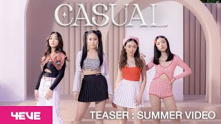 4EVE - CASUAL (Prod. by BenLUSS) -  Teaser Summer Video