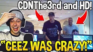 CIZZORZ Literally in Tears REACTING To CDNThe3rd and HighDistortion BEFORE Fortnite! *FUNNY*