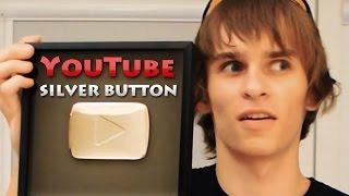 Серебряная кнопка YouTube - Распаковка (Unboxing)