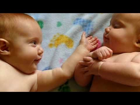 Funny Twins Baby Playing Together 🤤 Funny Fails Baby Video