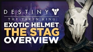 Destiny: The Taken King - Exotic Warlock Helmet 'THE STAG' Perks And Overview