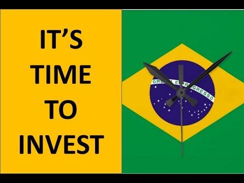 Invest In Brazil, Economic Turnaround While Still Cheap!