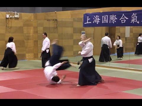 Embukai with Hangzhou Aikikai at Shanghai Int' Aikido Club
