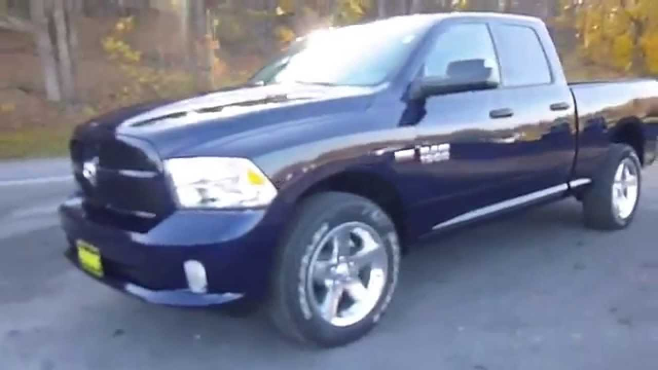 2015 Ram 1500 Tradesman Express Truck Quad Cab Youtube