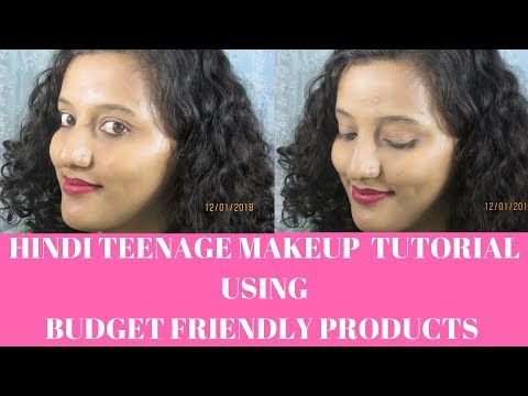 Indian Teenage Makeup Tutorial Hindi