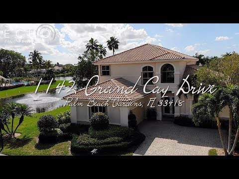 On The Market: 1142 Grand Cay Drive, Palm Beach Gardens, FL 33418