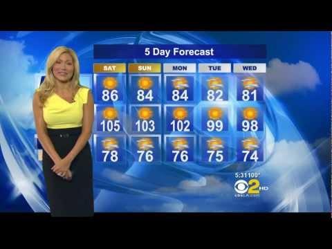 Jackie Johnson 2012/08/10 CBS2 HD