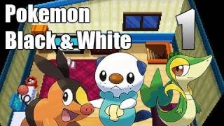 Pokémon Black & White - Episode 1 | A New Beginning!